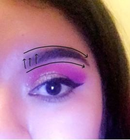 eyebrows arrows